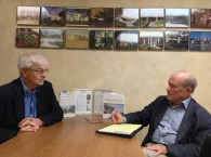 Darwin Gillett consulting with a client